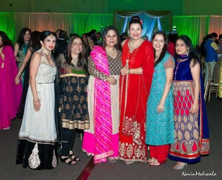 Farida Abjani, Himadri Katharani, Usha Ganju, Shefali Jhaveri, Tanaz Choudhury and Heena Ruparel