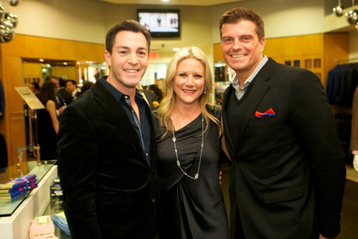 Andy Cerota, Stacey Soriero and John Cone