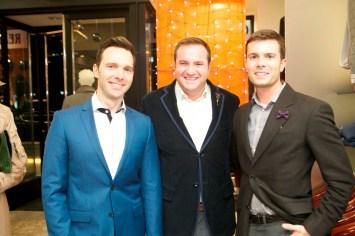 Cody Soutar, Tony Gibson and JD Adamson