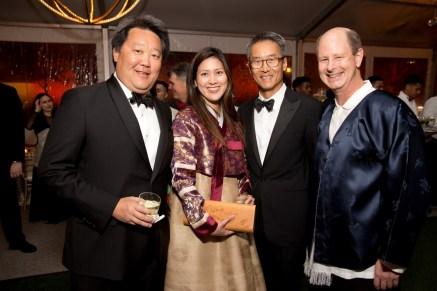 Alexander C. Chae, Sue and Randy Sim, Edward R. Allen