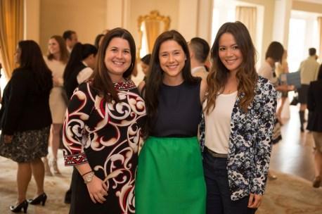 Nicole Dallas, Krystal Thompson and Adrienne Sayward