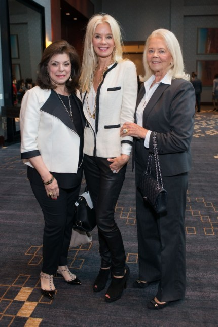 Honoree Laura Ward, Tena Faust, Marge Lundquist