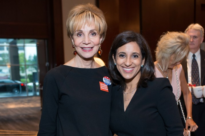 Leisa Holland Nelson, Crime Stoppers Exec. Director Rania Mankarious