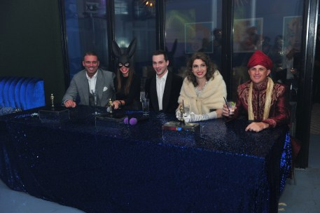 Celebrity Judges Table - Photo by Herb Hochman