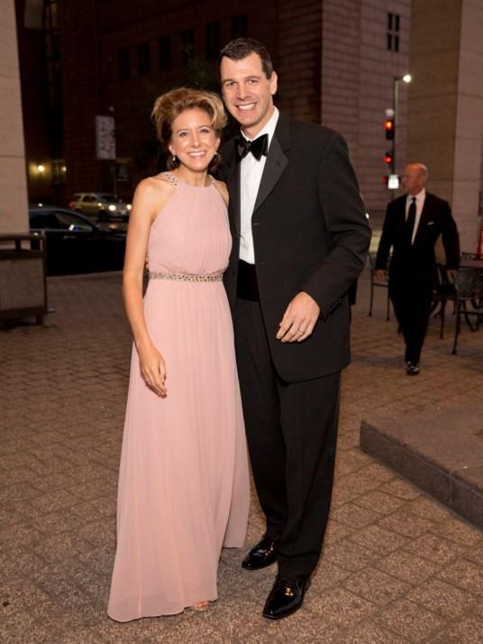 Christina and Mark Hanson; Photo by Jenny Antill