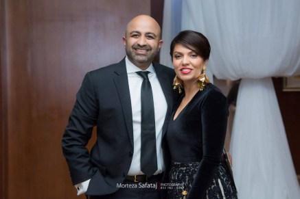 Wasay and Mona Khan