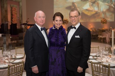 2016 Grand Gala Ball Chairs Laurie and Reed Morian; Gary Tinterow; Photo by Wilson Parish