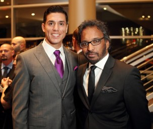 3 time Olympian Steven Lopez and Steve Devadanam - Photo by Quy Tran