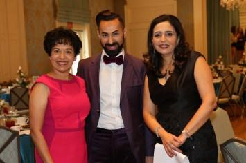 Dr Marie Goradia, Fady Armanious, Asha Dhume