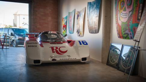 Porsche Sport James Weaver Race Car