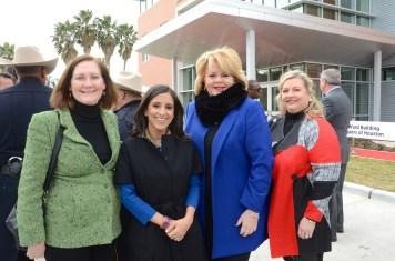Diane Englet, Crime Stoppers Exec. Director Rania Mankarious, Council Member Brenda Stardig, Katrina Arnim