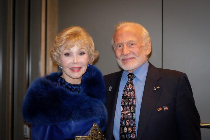 Joanne Herring, Buzz Aldrin