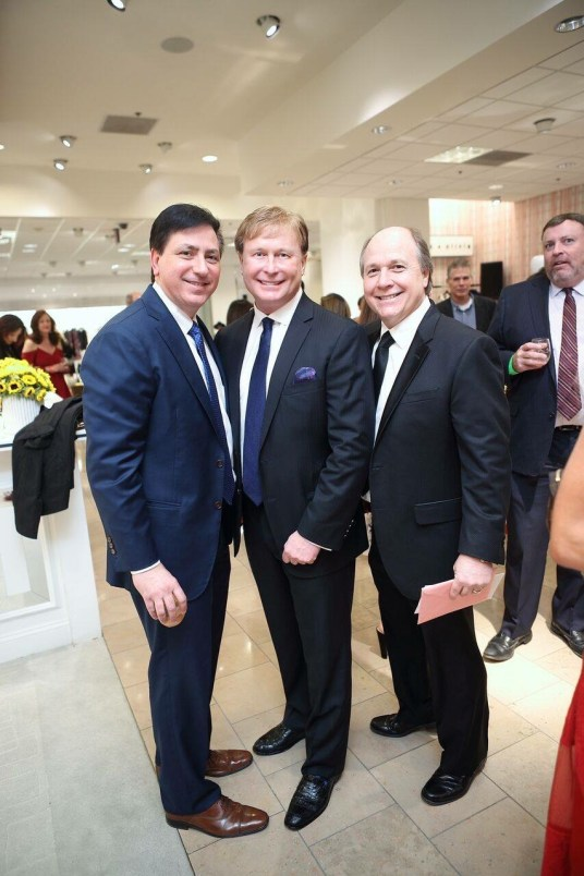 Donald DeSimone, Rick Kline, Dr. Charles Johnson