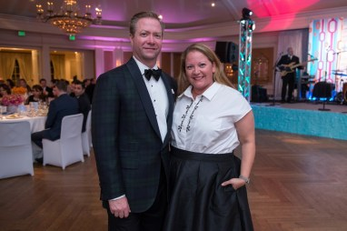 Geoff and Allison Leach; Photo by Michelle Watson
