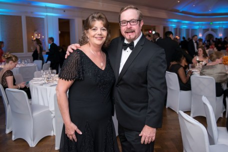 Mary Jo and David Andre; Photo by Michelle WatsonSpace City Gala