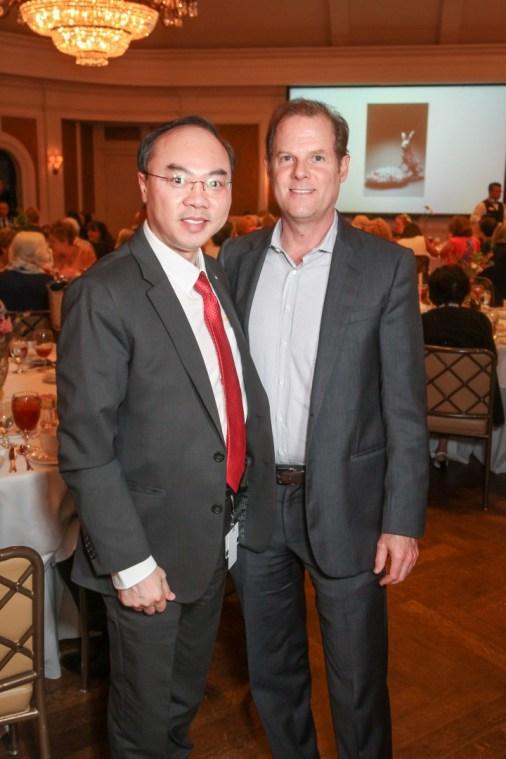 Council Member Steve Le, Marc Schindler