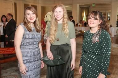 Natalie Svacina, Rebecca Hewitt, Jessica Andersen