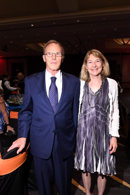 Paula Hern and Tom Barbour (JLH Foundation)