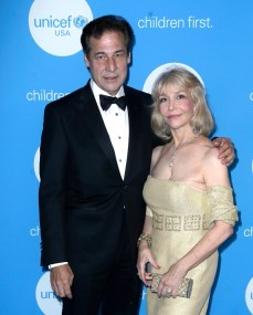 HOUSTON, TX - MAY 24: Gala Committee Member Dan Boggio and Gala Committee Board Chair Southwest Region UNICEF USA Susan Boggio at the fourth annual UNICEF Audrey Hepburn® Society Ball on May 24, 2017 in Houston, Texas. (Photo by Bob Levey/Getty Images for UNICEF)