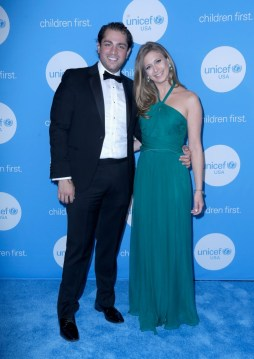 HOUSTON, TX - MAY 24: Gala Chairs Guillermo Sierra and Princess Tatiana Galitzine at the fourth annual UNICEF Audrey Hepburn® Society Ball on May 24, 2017 in Houston, Texas. (Photo by Bob Levey/Getty Images for UNICEF)