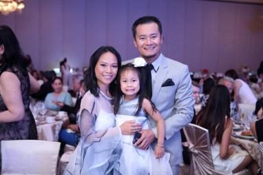 Designer Nha Khanh and family