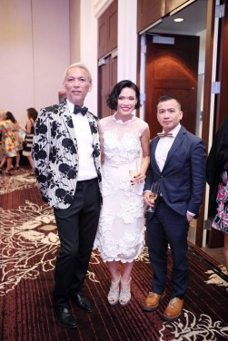 Marc and Duyen Nguyen with Viet Hoang