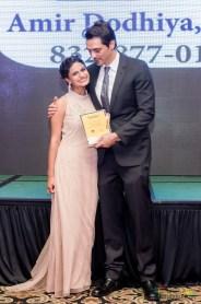 Pooja Lodhia and Arjun Rampal