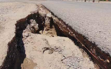 Heavy rains cause flooding, erosion in parts of county