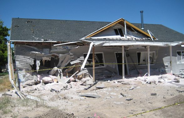 Explosions rock small Lincoln County town