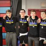 Five Panther Wrestlers Earn Medals