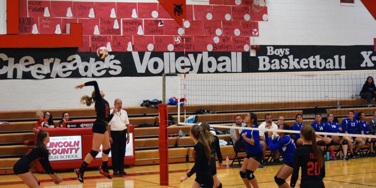 Lady Lynx Beat Laughlin for Homecoming Win