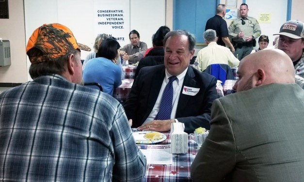 State Treasurer Visits Caliente as Part of Gubernatorial Campaign