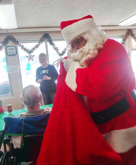 Santa Brings Smiles to Local Hospital