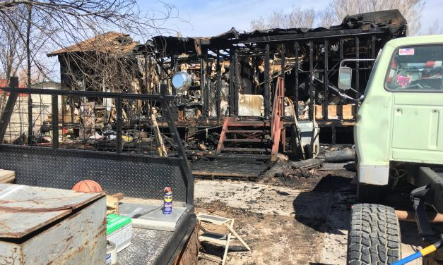 Afternoon Fire Guts Home