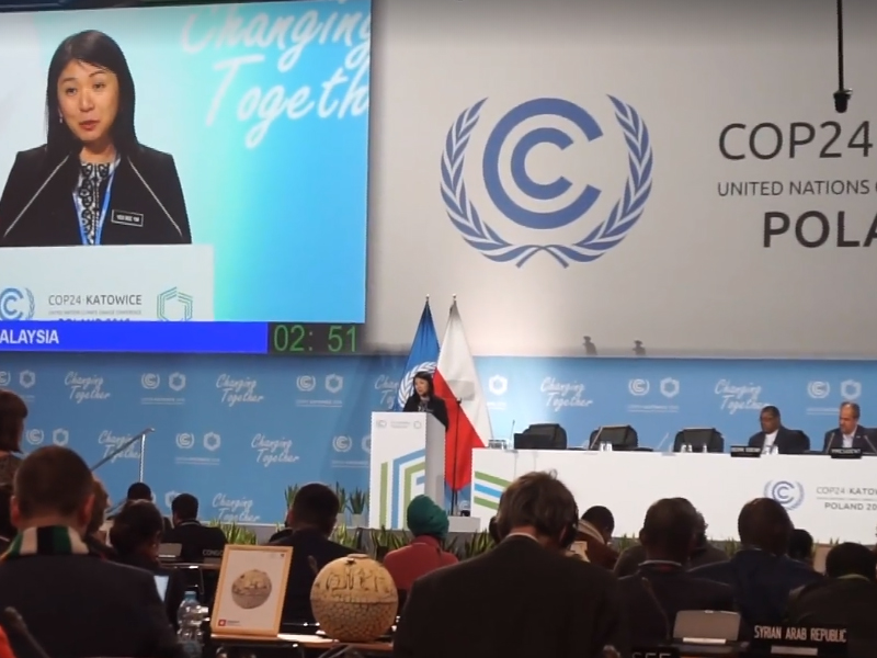 COP24: Malaysia Ready To Do More