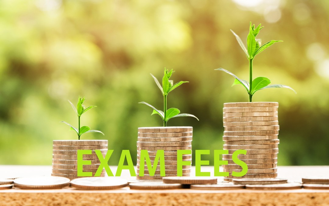 Exam Fees for June 2018