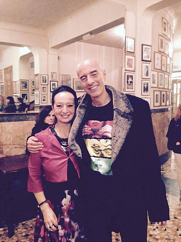 Con Massimo Cotto