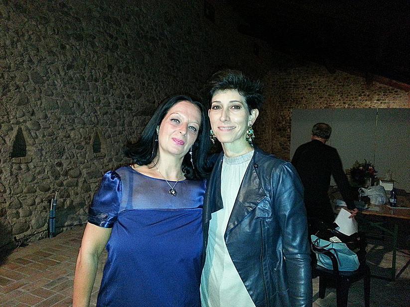 Con Andrea Mirò