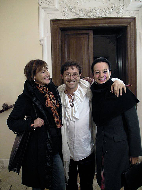 Con Valerio Mauro