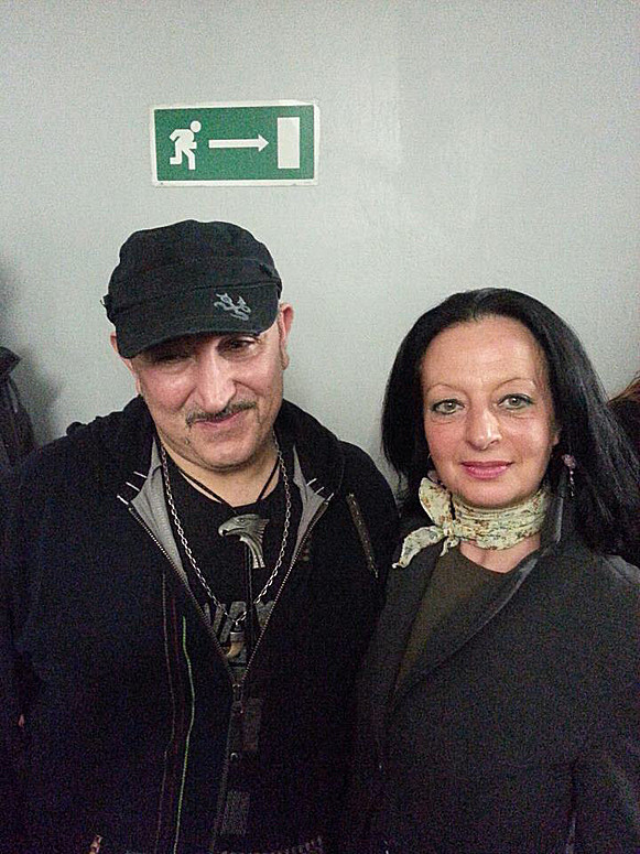 Con Ghigo Renzulli