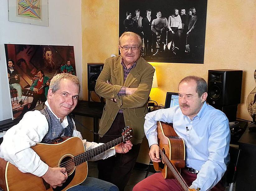 Luca Bonaffini, Marco Dieci e Giancarlo Governi