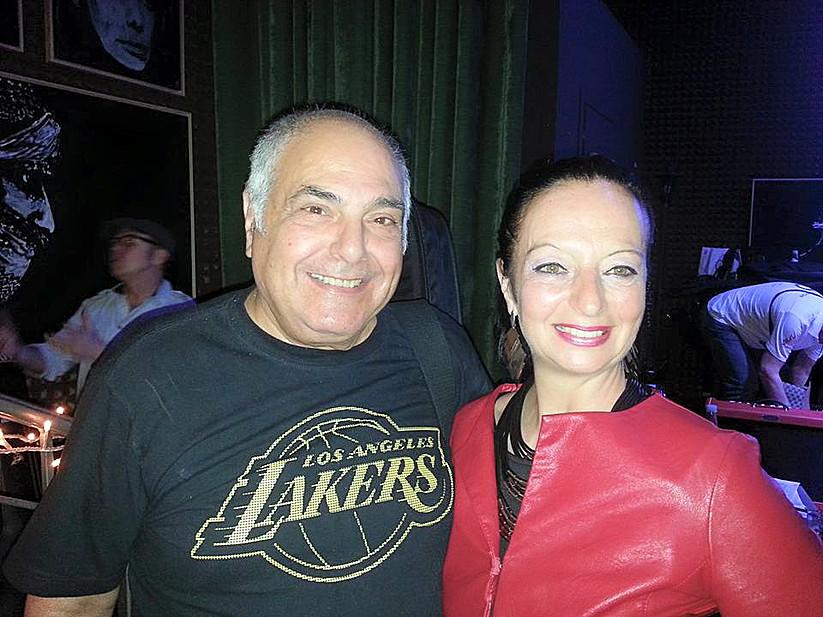 Con Massimo Luca