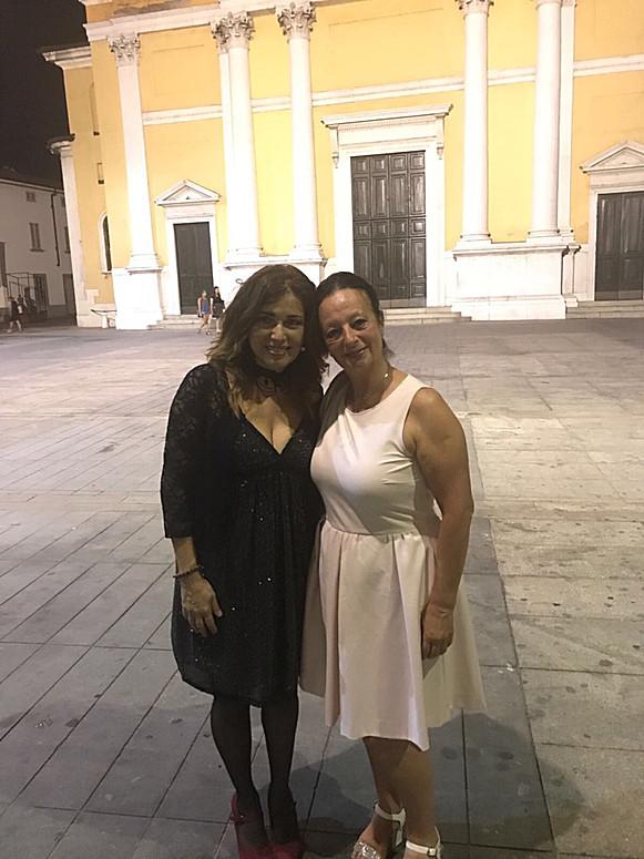 Con Susanna Parigi
