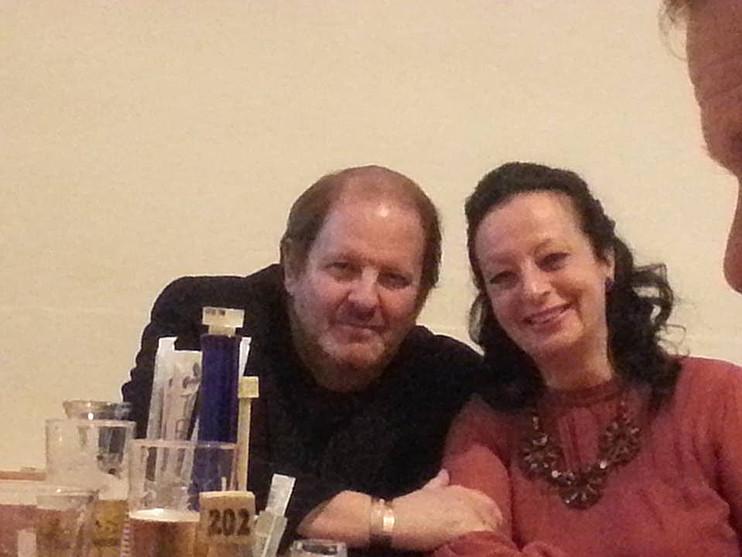 Con il caro amico Giorgio Pezzana