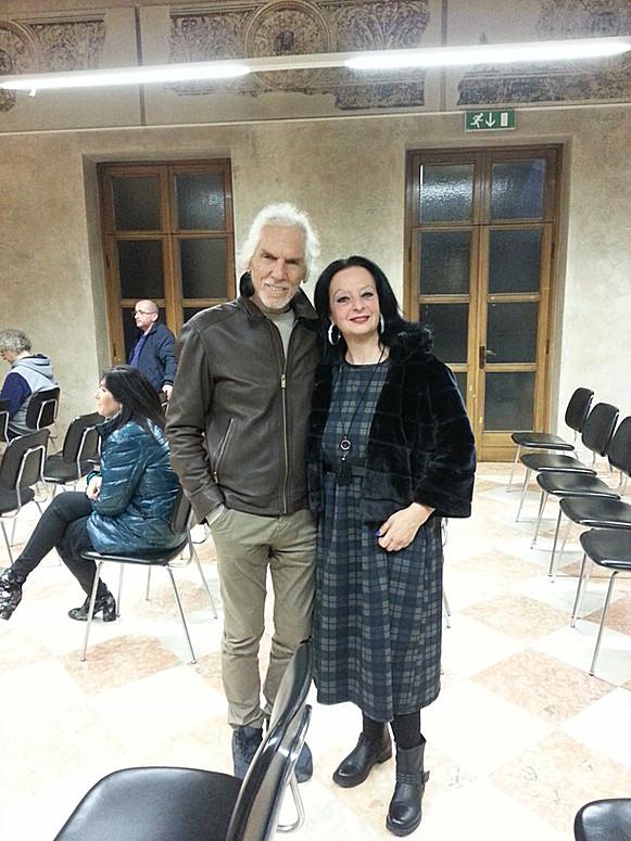 Con Gianni Dall\'Aglio