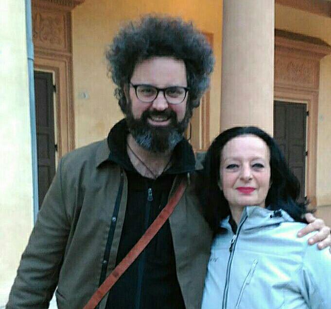 Con Simone Christicchi