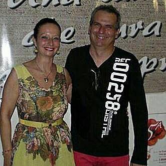 Con Luca Bonaffini