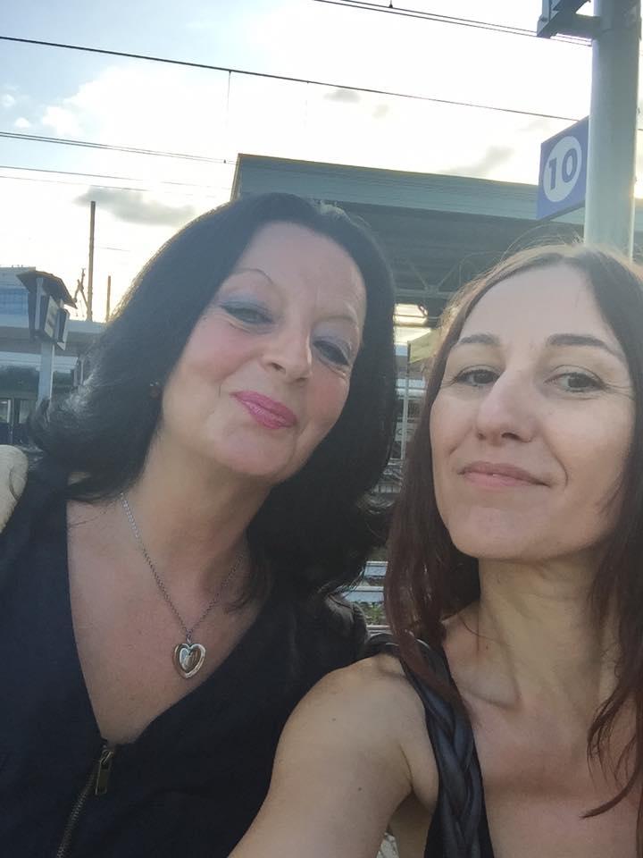 Con Francesca De Mori