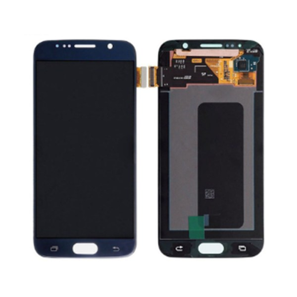 LCD Screen Replacement without frame for Samsung Galaxy S6 - Blue