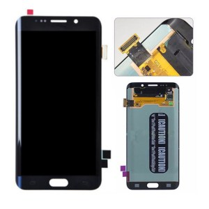LCD Screen Replacement without frame for Samsung Galaxy S6 Edge Plus - Blue